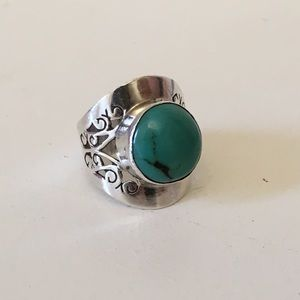 Jewelry - Sterling Silver 925 Turquoise ring